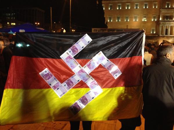 Greece to Germany, 15 February 2015